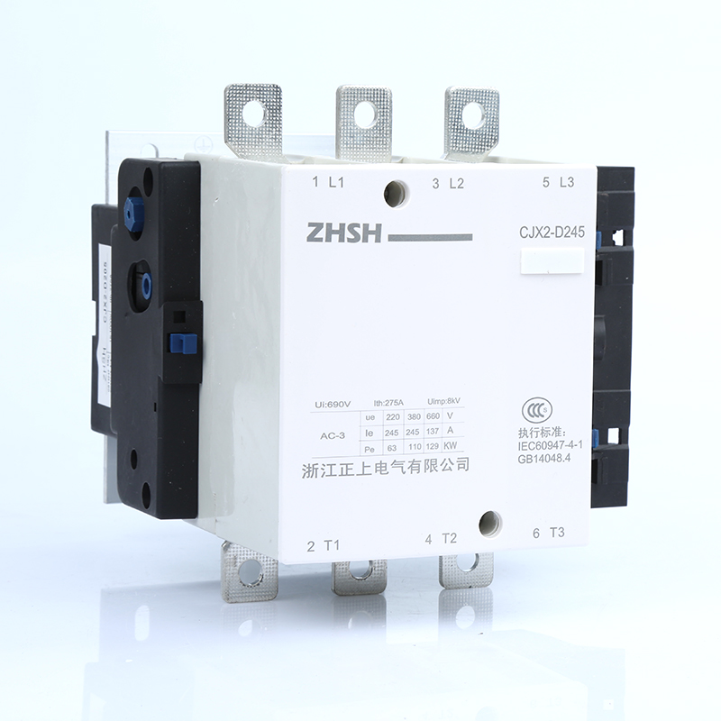 AC Contactor 3 pole household motor starter relay CJX2-D245 245A switches 3 phase rail modular contactor coil voltage 36V new cad32mdc dc220v tesys d series contactor control relay 3no 2nc