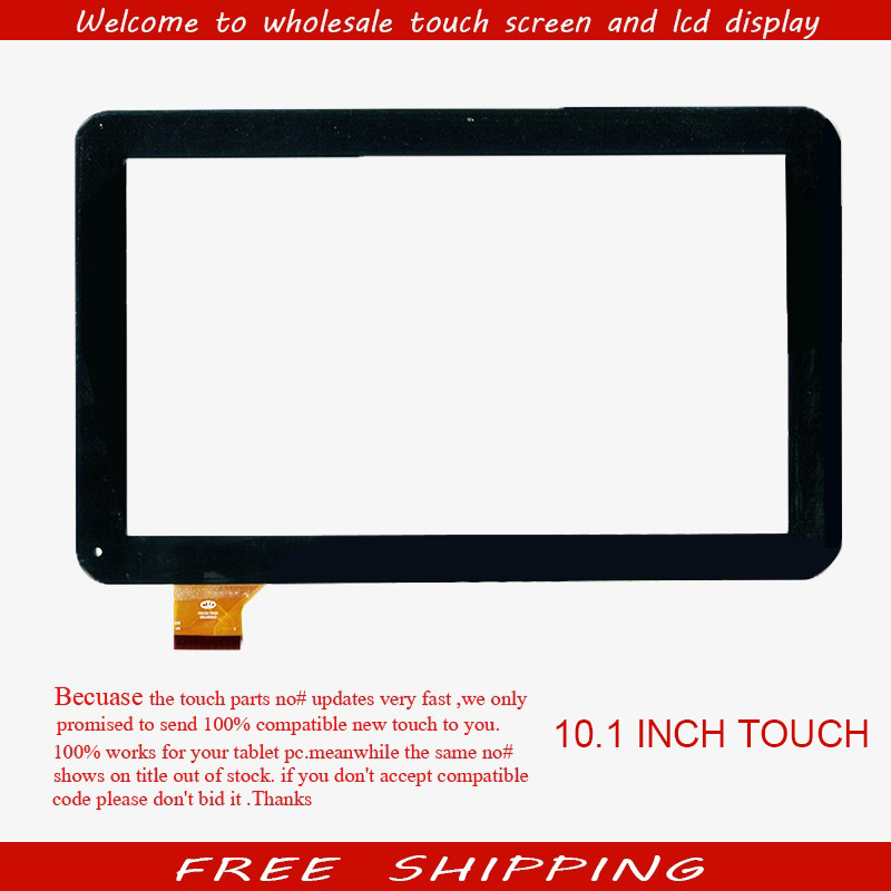 New Capacitive touch screen For 10.1 inch Supra M12CG 3G Tablet XN1530 panel digitizer glass Sensor replacement Free Shipping new for 10 1 inch supra m12cg 3g tablet touch screen touch panel digitizer glass sensor replacement free shipping