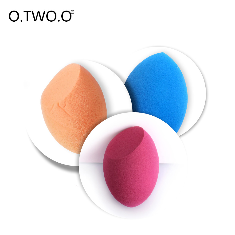 O.TWO.O cosmetic puff Face Cleaning Pad Foundation Sponge Blender Blending Powder Puff Cosmetic Puff Beauty Make Up Tools Hot