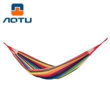 NEW 2019 Outdoor 200*80cm leisure hammock Single camping indoor park adult widening thickening canvas affordable 130kg