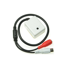 MINI Audio CCTV Microphone MIC FOR Security DVR Cameras