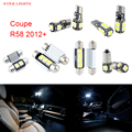 9pcs LED Canbus Interior Lights Kit Package For Mini Coupe R58 (2012+)