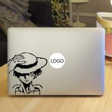 One Piece Captain Luffy Vinyl Laptop Decal Sticker