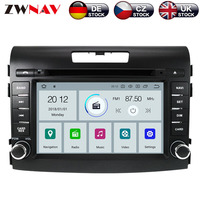 ZWNAV Android 9.0 Car DVD Player For Honda CRV 2012 2016 Android Radio Ibiza GPS map Navigation with Mirroring link RDS px5