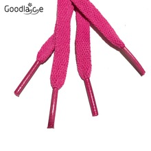 8mm Wide of Flat Shoelaces Shoe Laces for  Sneakers Sport Shoes 24 Colors 80cm / 100cm / 120cm / 140cm / 160cm