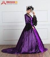 e84f6d8dd 18th Century Renaissance Historical Period Dress For Women Rococo Baroque  Marie Antoinette Costumes. 18th renacentista del siglo período histórico  vestido ...