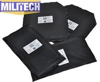 Kevlar Ballistic Panel Bullet Proof Plate Inserts Body Armor Soft Cummerbund Side Armour NIJ Lvl IIIA