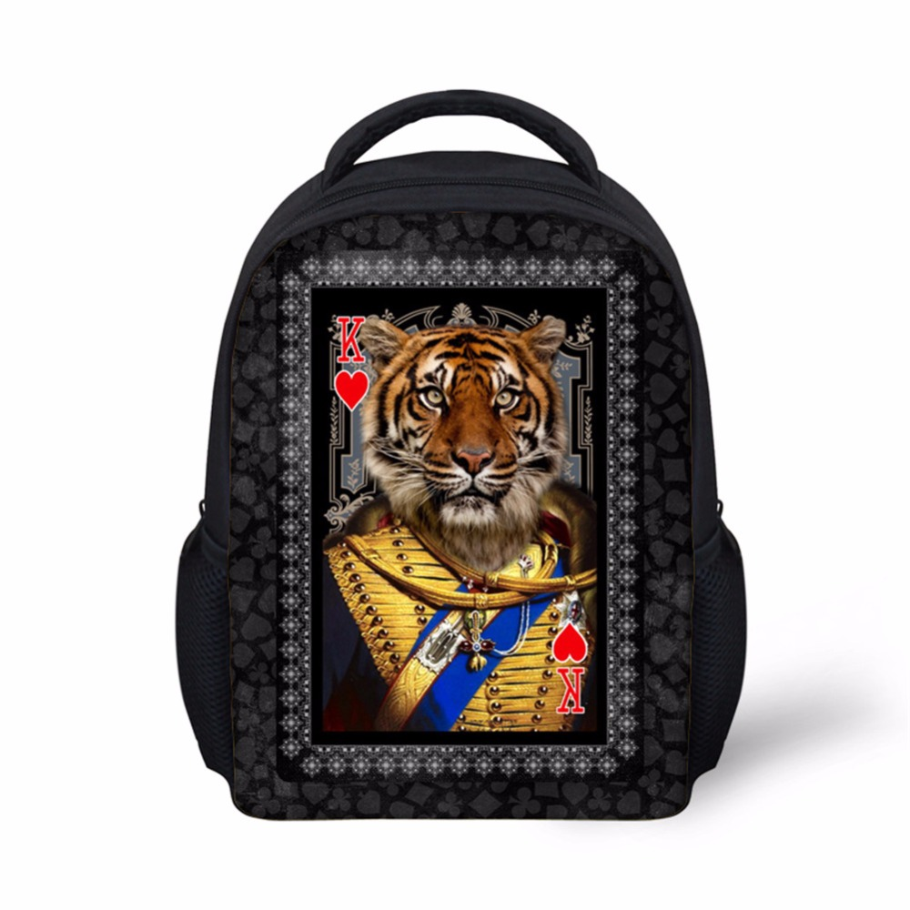 Noisydesigns Trend Childen School Bags 3D Printing Teenager Schoolbag funny animals 12 inch Kids book Bags Mochila Escolar