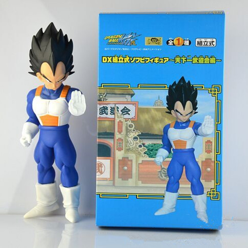 Dragon Ball Super Seiya Vegeta Soft PVC Doll Action Figure Model Toys Collective Doll 1025cm Free Shipping