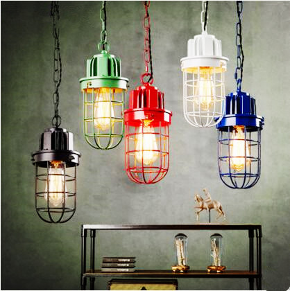American Metal Edison Loft Industrial Pendant Light Bar Dinning Room Retro Vintage Lamp Hang Lights Fixtures Lampara Colgante iwhd rust retro vintage pendant lights led edison style loft industrial lamp metal iron rustic hanging light lampara colgante