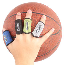 2x Stretch Elastic Arthritis Finger Fingerstall Support Protector Sleeve Sport Strap Wrap A71(China)