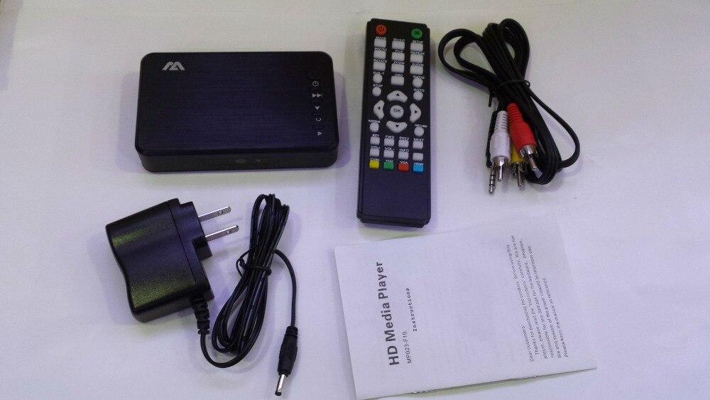 Медиаплеер HDD player1080P USB внешний HDD Media Player с HDMI VGA SD Поддержка MKV H.264 RMVB WMV media player для автомобиля P023