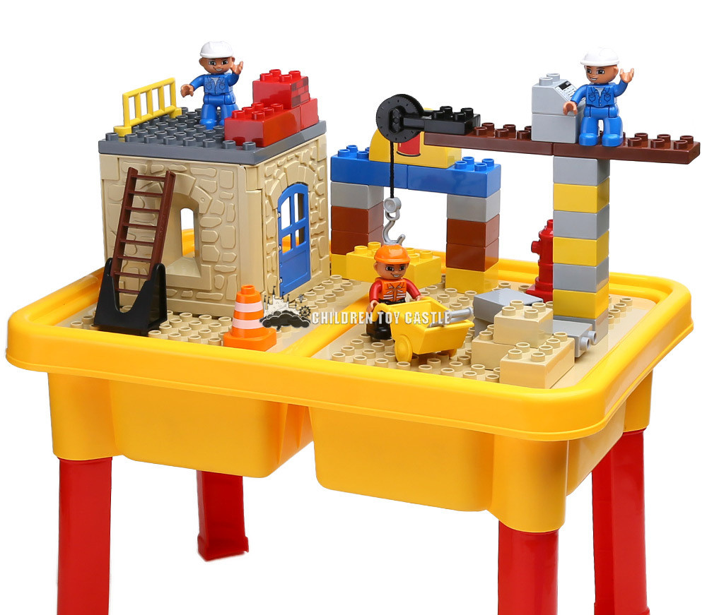 Online Shop Building Block Table Series Assembled Large Particle Building  Blocks Childrenu0027s Educational Toys Storage Compatible With Legoe |  Aliexpress ...