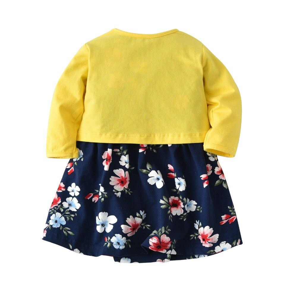 875ebfd83 2019 Carter Bebes Baby Girl Clothing Dress Set Long Sleeve Thin ...
