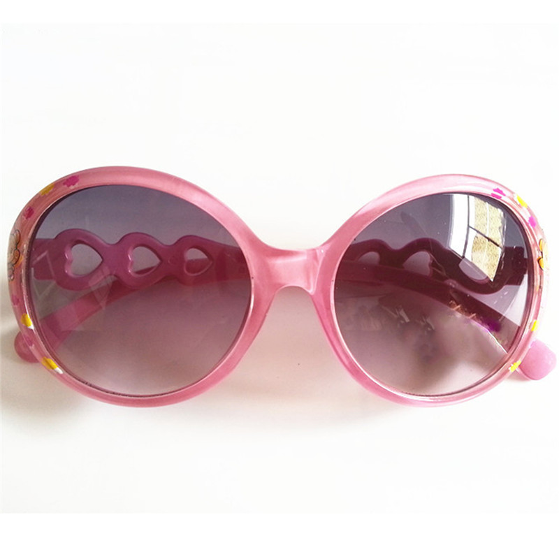 Sunglasses Girls' Clothing Kids Sunglasses Boys Anti-uv Sunglass Heart-shaped Mirror Legs Gafas Candy Color Children Oculos De Sol C07 Relieving Heat And Sunstroke