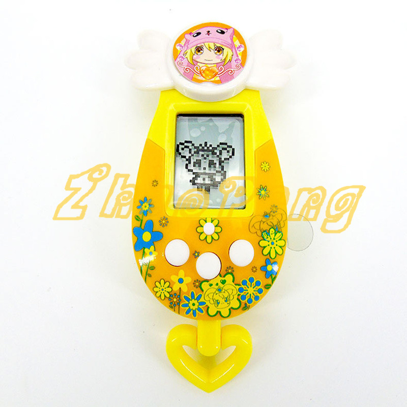 8 warna hewan peliharaan mesin nostalgia maya mainan hewan peliharaan - Mainan elektronik - Foto 4