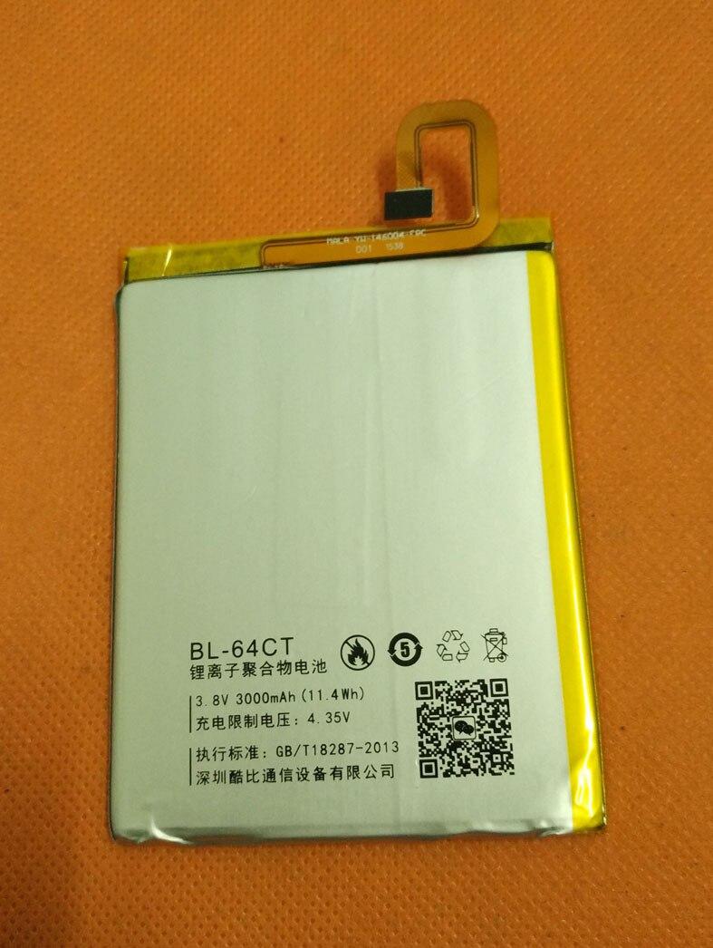 Used Original 3000mAh Battery Batterie Batterij Bateria For Koobee P1S Pepsi P1S MTK6592 Octa Core 5.5 FHD