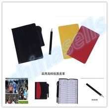 soccer champion yellow and red cards Referee special warning signs Red & 1 Yellow card +1 +1pcs pen