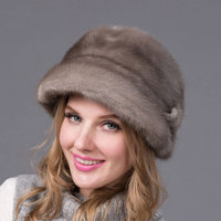 JKP real mink leather hat fall/winter hat cap water warmth no scary hat hottest women's hat 2018 winter good gift DHY 57