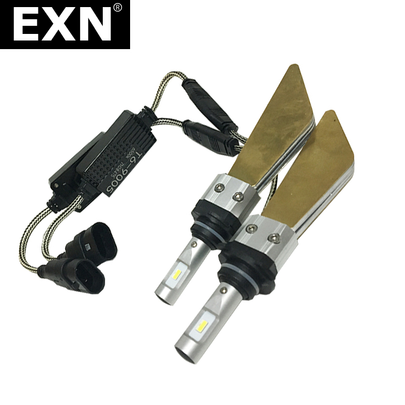 EXN T6 Car Styling LED Headlight Bulb H4 H7 H11 H1 9005/HB3 9006/HB4 H13 9004 9007 H3 Fog Lights 6000K 3000K LED Headlamp Light 12v led light auto headlamp h1 h3 h7 9005 9004 9007 h4 h15 car led headlight bulb 30w high single dual beam white light