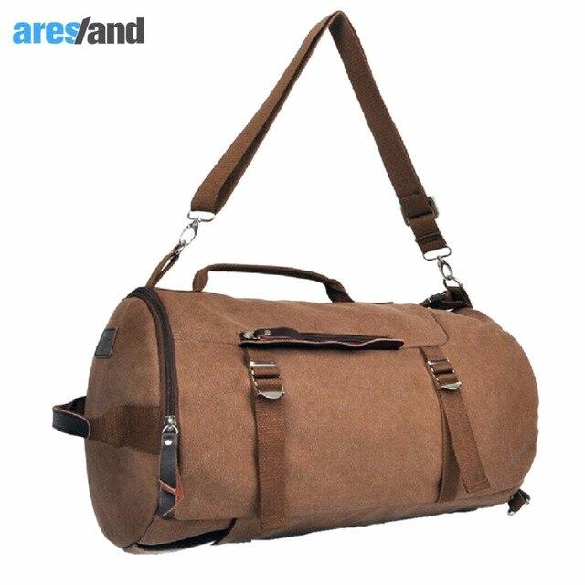 51c7216235eb 3 in 1 Multifunction Retro Sports Bag Backpack Daypack Trekking Rucksack  Handbag Large Capacity Bag Male
