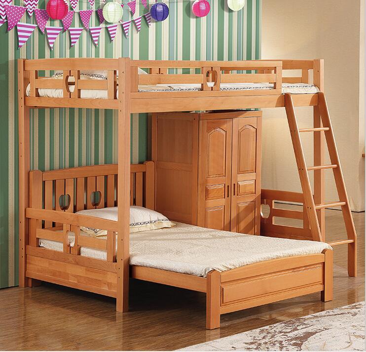 Wooden Bunk Beds Child Special Offer Wood Lit Enfants