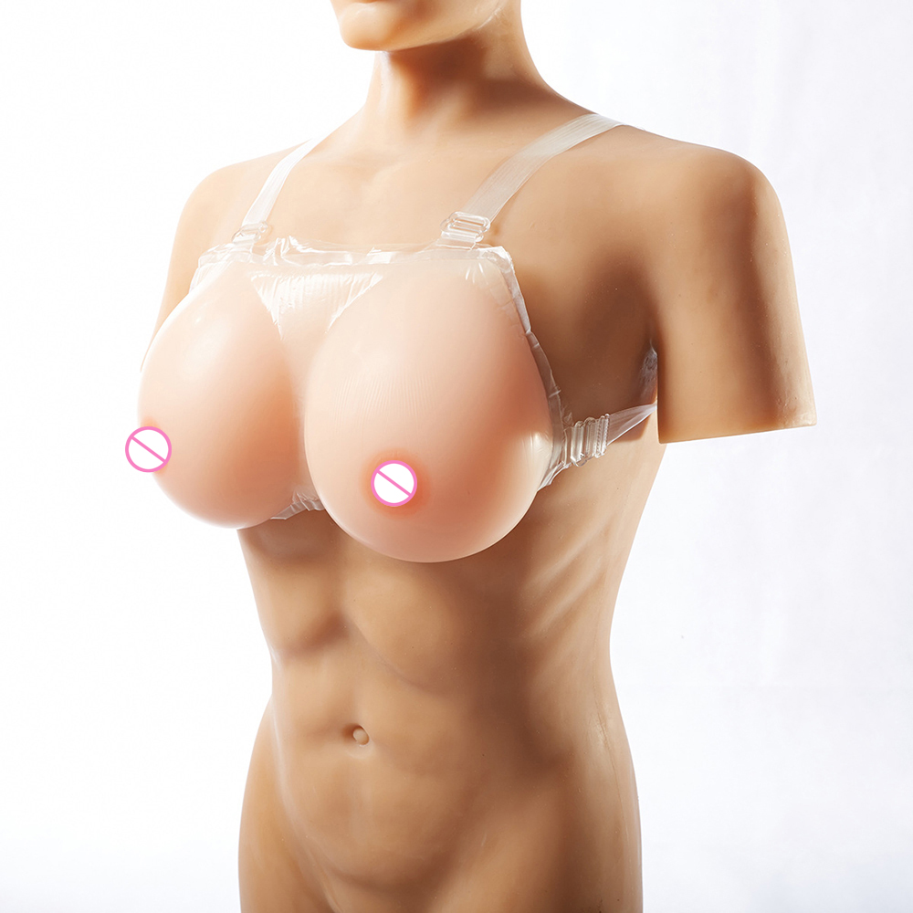 600g Wearable Silicone Breast Forms for Shemale Drag Queen Strapon Crossdresser Silicone Breasts Transgender Fake Tits silicone artificial breast travesti transgender crossdresser breast forms drag queen fake boob shemale fake breast 4600g