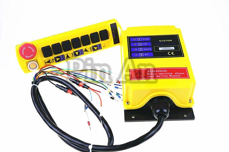 1 Скорость Управление подъемного крана дистанционного Управление Системы A100