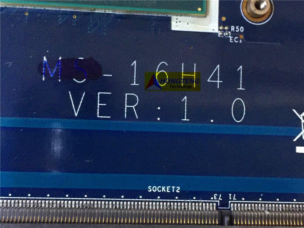 מזגנים MS-16H41 אמיתי עבור המחשב הנייד MSI GS60 02:00 MS-16H4 לוח אם עם I5-4200HQ המעבד GTX850M מבחן אישור (2)