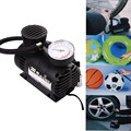 Mini Car Tire Tyre Inflator Pump 12V 300PSI Mini Compact Compressor Pump Car Bike Tyre Air Inflator for all car