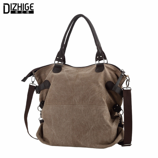 2016 New Fashion Color Women Shoulder Bags Canvas Hobos Women Bags High Quality Ladies Crossbody Bags Woman Messenger Bags Mujer