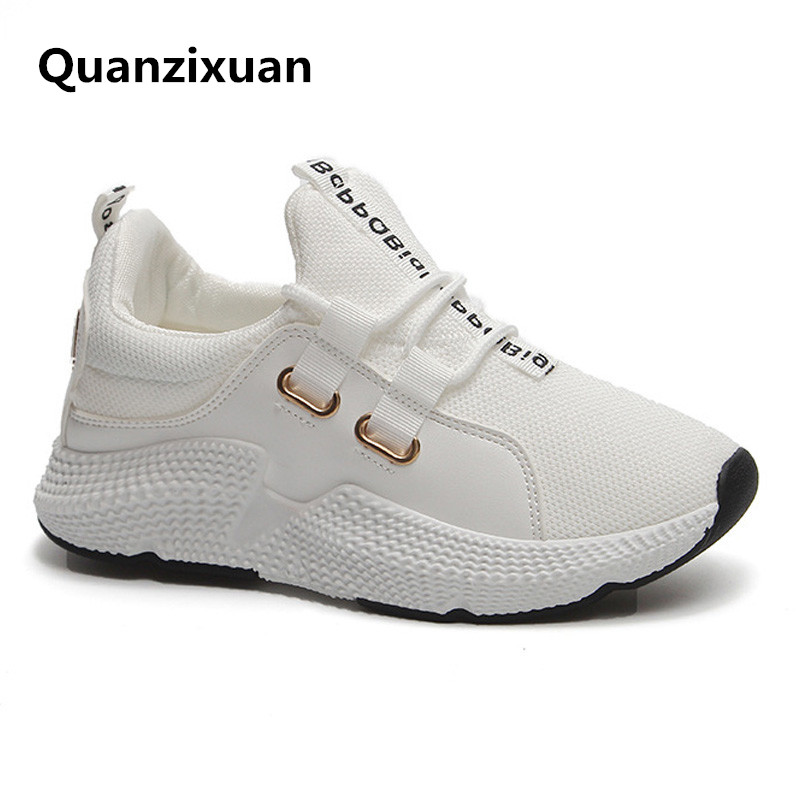 Sneakers Women 2018 Fashion Shoes White Sneakers Casual Chunky Shoes Ladies Platform Sneakers Canvas Vulcanized Shoes sneakers