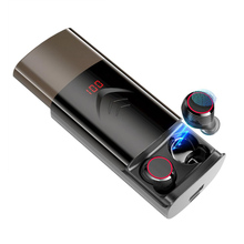 T9 TWS Wireless Earphone Bluetooth 5.0 Earbuds True Stereo Earphones Smart Touch Waterproof with Mic With 6000mAh Charging Box