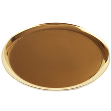 Metal Stainless Steel Storage Tray Plate Fruit Snack Coffee Cup Dish Plates Restaurant Round Home Decoration Tableware