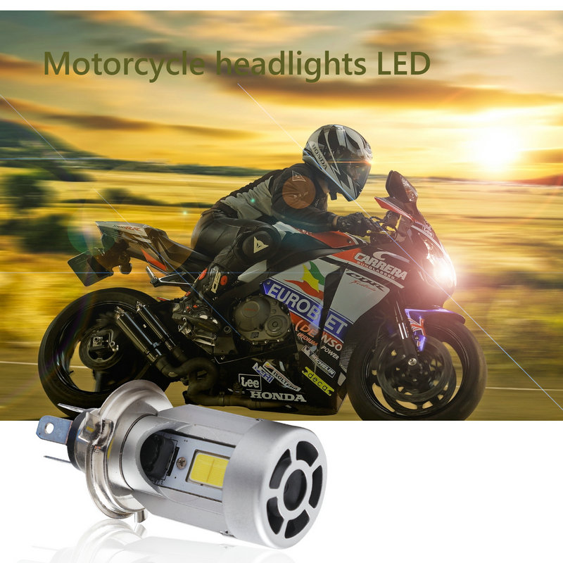 2020 New Time-limited Carro Auto Led Car 12v Hb2 H4 Motorcycle Moped Scooter Light Bulb 6500k Moto Accessories For Harley image