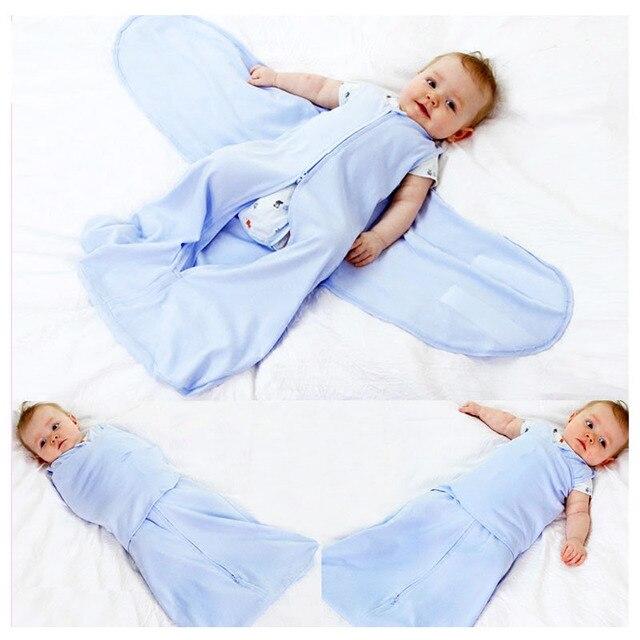Neugeborenen Baby Kinderwagen Sicher Schlafsack Zipper Anti Startle