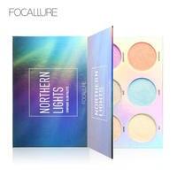 Nouveau Northern Lights 6 Couleurs Symphonie Lueur Palette Visage Contour Arc-En-Maquillage Surligneur Maquillage Ensemble Visage Anti-cernes
