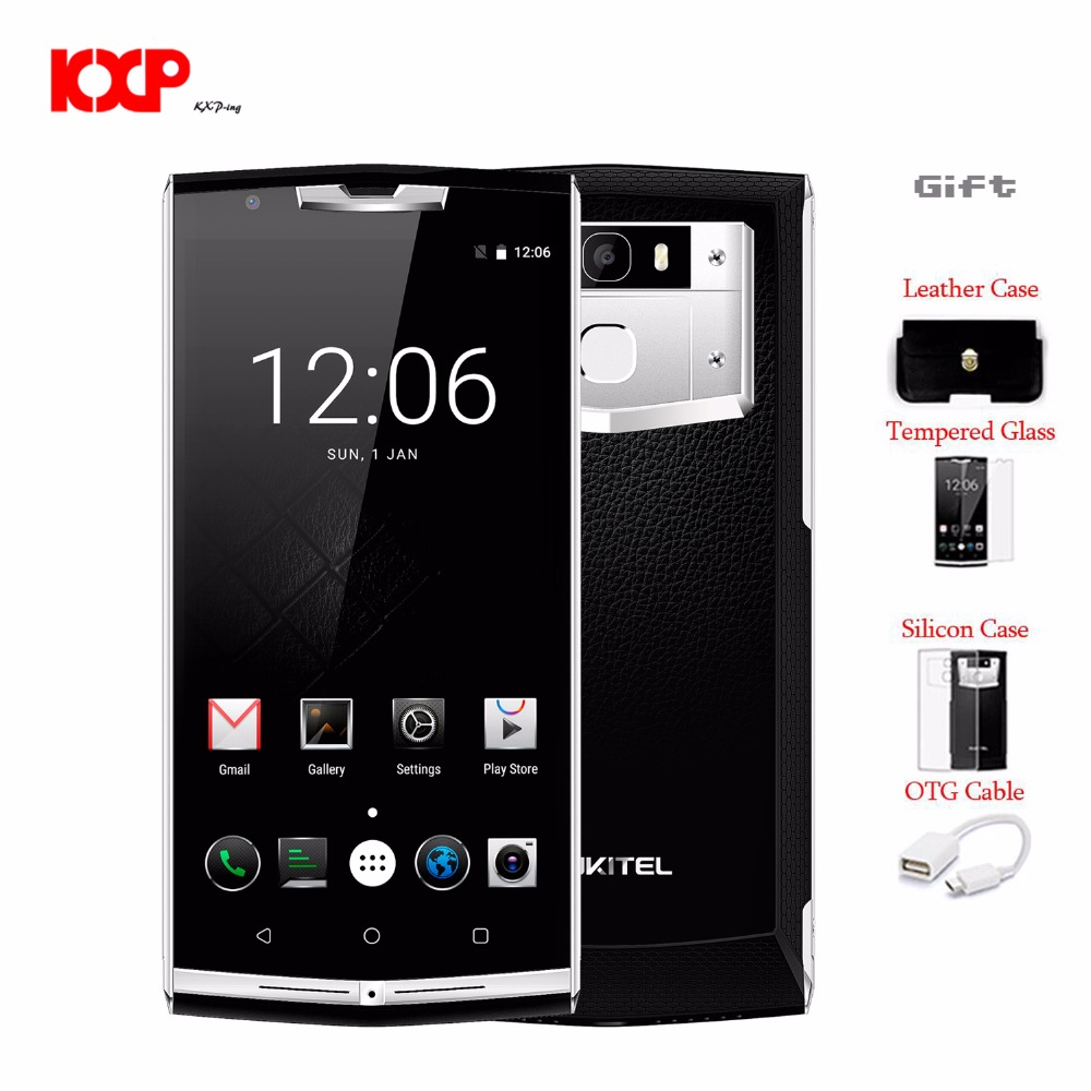 Original Oukitel K10000 Pro Android 7 0 Mobile Phone 5 5 FHD Octa Core 3GB RAM
