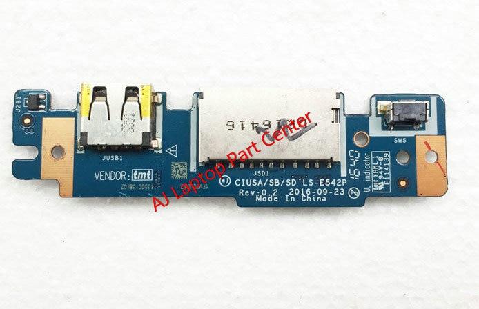 Flavor Original For Lenovo 320s-14 520s S310 7000 Usb Board Power Switch Button Board Ls-e542p Fragrant In