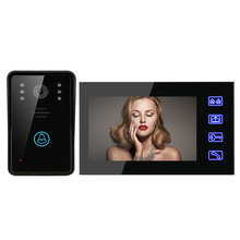 7 Video font b Door b font Phone Intercom Electric Doorbells Touch Button with Remote font