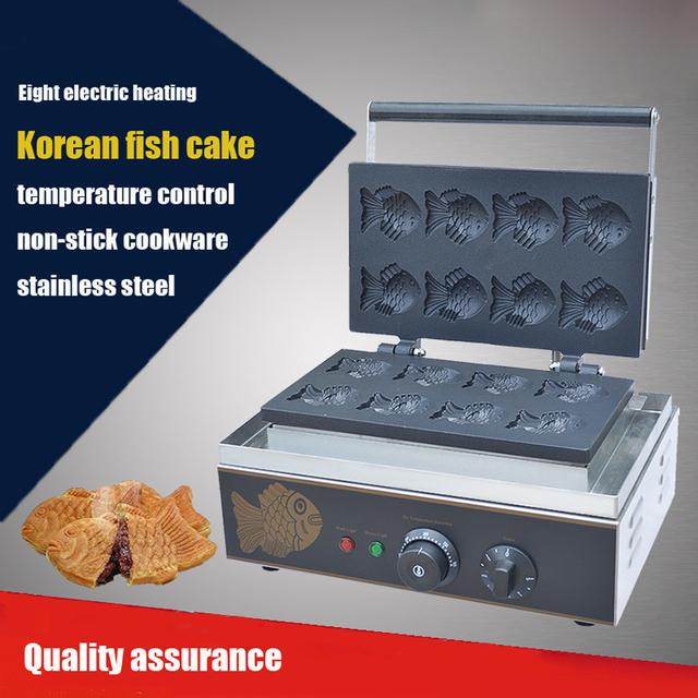 Offer 1PC FY 112 B Electric Korea Fish Waffle Maker Cake