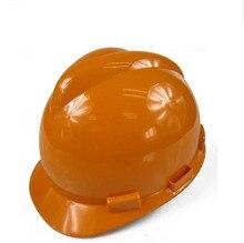 Security helmet working cap customized printing logo abs material knob printing H420715