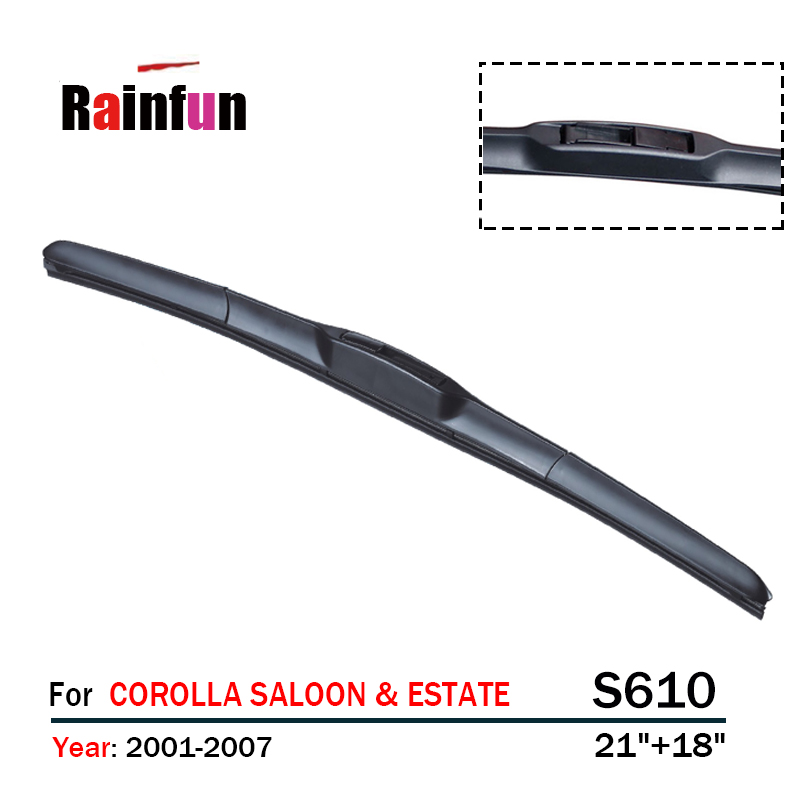 RAINFUN dedicated car wiper blade for TOYOTA COROLLA SALOON & ESTATE, COROLLA HATCHBACK, HATCHBACK & SALOON , 2 PCS as a lot