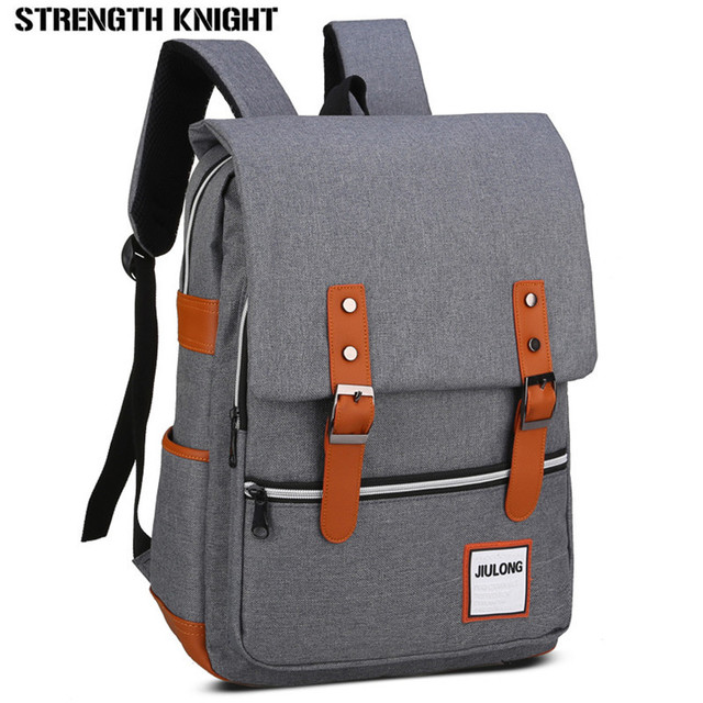 2018 Japan and Korean Style School bags Men s Backpacks Mochila for Laptop  14-15 Inch Notebook Computer Bags Women Backpack 9c31eb7cee383