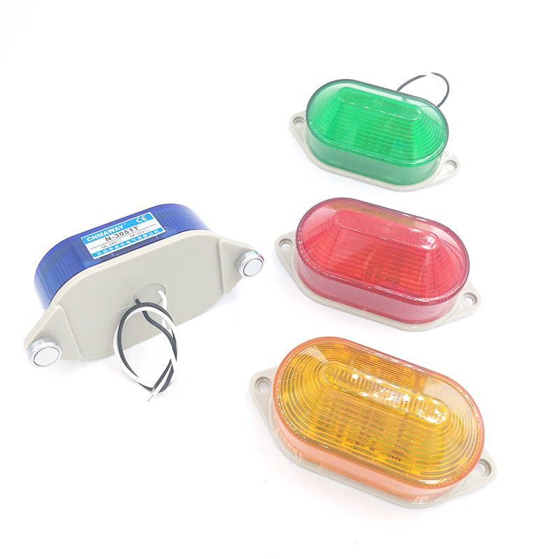 N-3051TJ Buzzer Indicator Light Strobe Signal Warning Light Lamp Small  LED Flashing Light Sound Security Alarm 12V 24V 220V