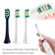 Сменные насадки для зубных щеток Xiaomi, электрические насадки для зубных щеток SOOCAS SOOCARE X3 Xiaomi Mijia, насадки для зубных щеток 5