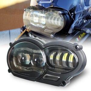 Image 1 - Мотоциклетные аксессуары, светодиодная фара в сборе с DRL, оригинальный комплект для BMW R 1200 GS 2008 2009 2010 2011