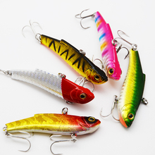 5color 70mm 16.5g Fishing Lures VIB Hard Baits Artificial Baits Fishing Tackle Free Shiping