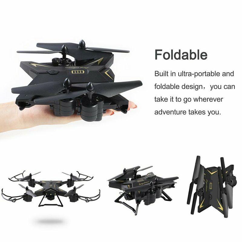 Drone quadrirotor FPV caméra RC hélicoptère avec 5MP KY601SW HD caméra 1080P grand angle 1800mah batterie RTF