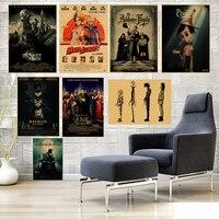 Carteles de película Retro de papel Kraft mate de estilo Retro de la vendimia de los carteles de la pared de la decoración del hogar 42*30 cm